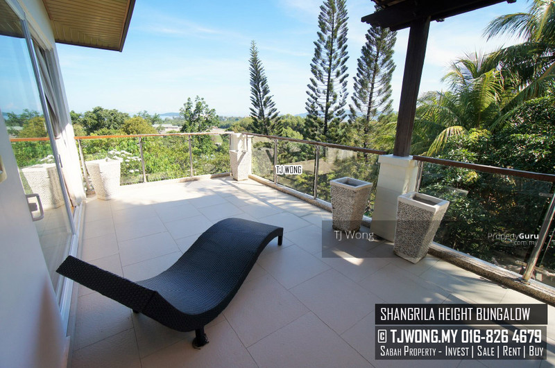 Shangrila height kk city kota kinabalu sabah 5 bedrooms 5000 sqft bungalows villas for Home furniture kota kinabalu