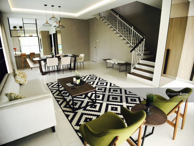 22x75 Landed 2sty 2500sqf House Cyberjaya Putrajaya Rumah Teres 107068190