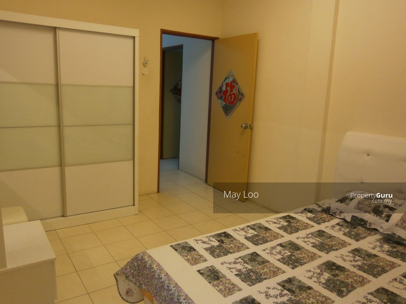 Fully furnished block a 15th floor prima condo at bercham for 15th floor
