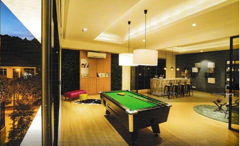 Superb Bungalow Billiards Part - 10: Perdana Heights ZERO-LOT Bungalow #108257468