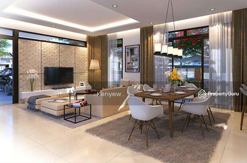 new 2 storey terrace house freehold 22x80 near puchong cheras sri