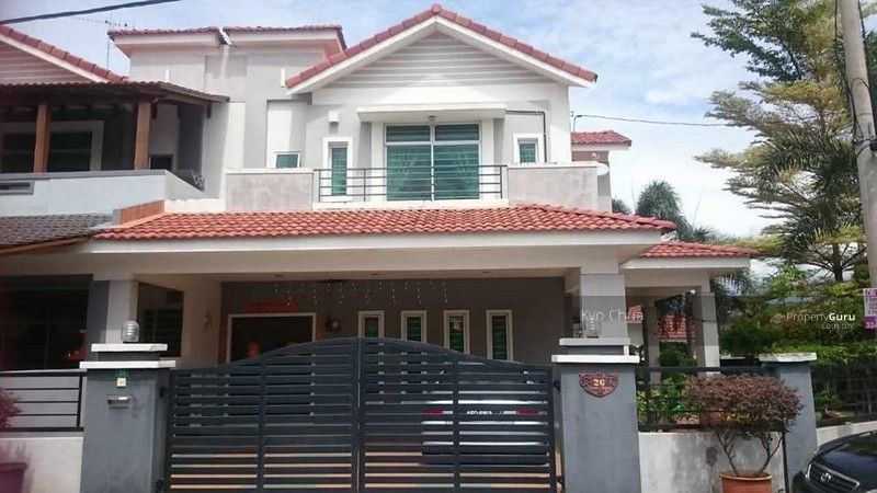 Bandar Cyber Double Storey Corner House For Sale In Ipoh