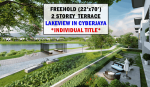 [INDIVIDUAL TITLE] Freehold with LakeView Terrace