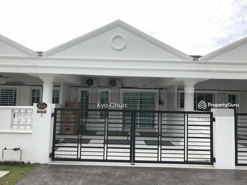 Freehold bercham one residence single storey terrace house for Terrace house 1