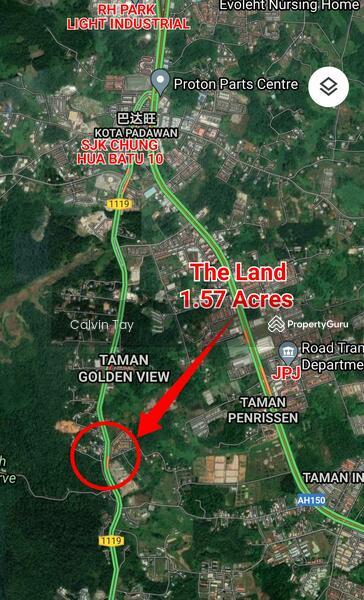 1.57 Acres Land at 12 Miles Penrissen Road Kuching #165820294