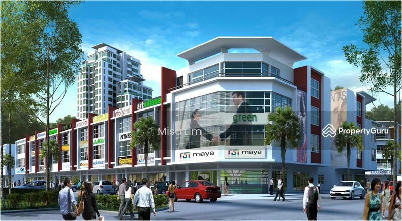 Limited Shop Facing Mega Mall 22X75 RM840K Free Hold Free All Fees Near By  Kajang Bangi