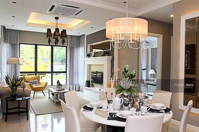 For Sale - Near KUALA LUMPUR , 0% Downpayment , HOT Luxury 2 Storey House