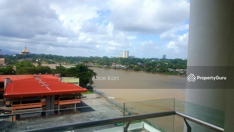 Riverine Sapphire Condominium For Rent Jalan Petanak Kuching Sarawak Jalan Petanak Kuching