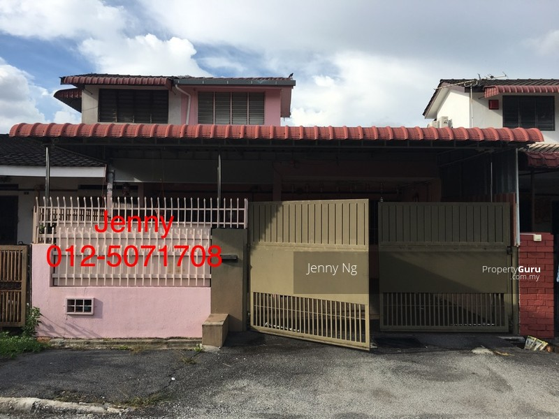 Single storey house at ipoh tmn sg rokam persiaran indah for Two story homes under 200k