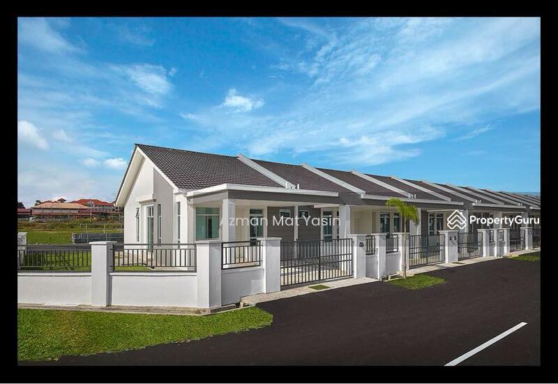 Rumah Teres Moden 1 Tingkat Belakang Pantai Timur Kuala Krai Kelantan 118363730