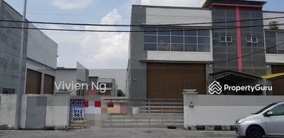 Dijual - 1 & half storey semi-D factory in I park klebang for sale