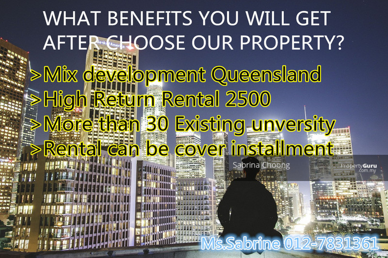 INVESTMENT PURPOSE RM 340K++ RENTAL COVER MONTHLY INSTALLMENT BESIDE AEON  AND TOL
