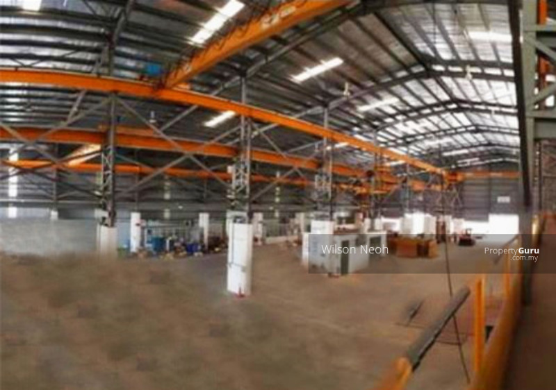 12xoverhead crane & 12m height, fully renovated office 15min to seaport &  singapore