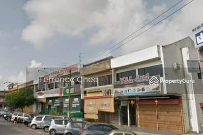 For Sale - Double storey endlot shop , taman johor jaya