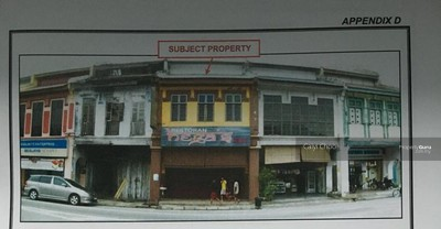 For Sale - 2sty shop at Kay Long street Gopeng