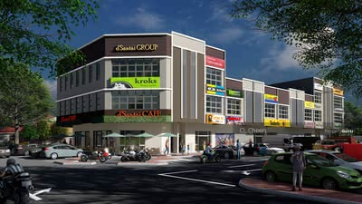 For Sale - Bangi Bandar Bukit Mahhota 2 Storey Shop 20% below Market Value, 100% Loan RM756, 000
