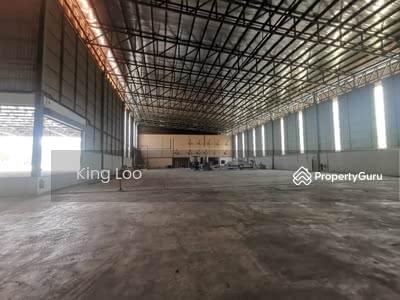 For Rent - 41k Sf built Up Detached Factory Warehouse, Port Klang, Bandar Suleiman