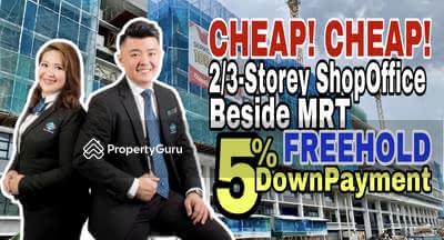 For Sale - NEW Freehold Cheras 2 / 3 Sty Shoplot Next MRT