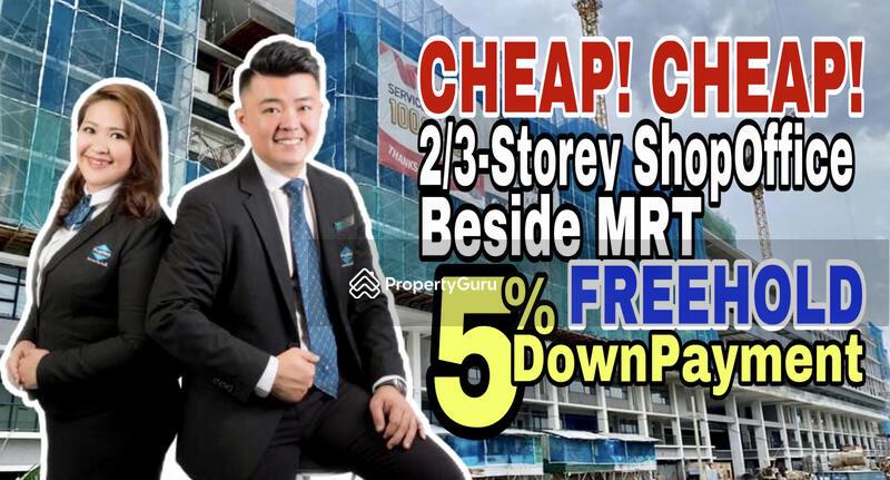 NEW Freehold Cheras 2 / 3 Sty Shoplot Next MRT #156144356