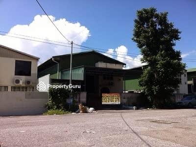 Dijual - Factory at Kawasan Perindustrian Ringan Bercham