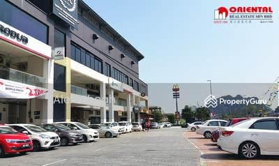 Dijual - Ipoh Double Storey Shop Facing Jalan Kuala Kangsar