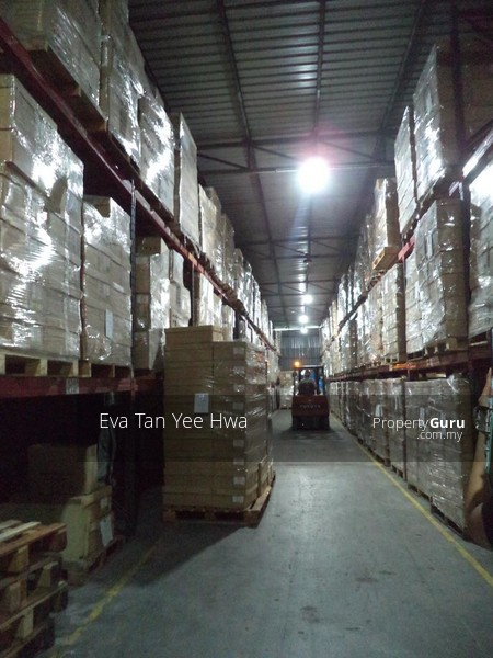 Ulu Tiram 300 Amp Single Storey Detached Warehouse with an Annexed Double Storey Office for Sale #135316188