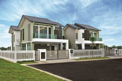 For Sale - NEW DOUBLE STOREY 22X75 WITH CLUBHOUSE [ZERO DOWNPAYMENT] CHERAS