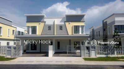 Dijual - [M1 Residential+Cash Back 80k+Full loan]2tkt Mampu Milik Freehold 22x78 Puchong Cyberjaya Putrajaya