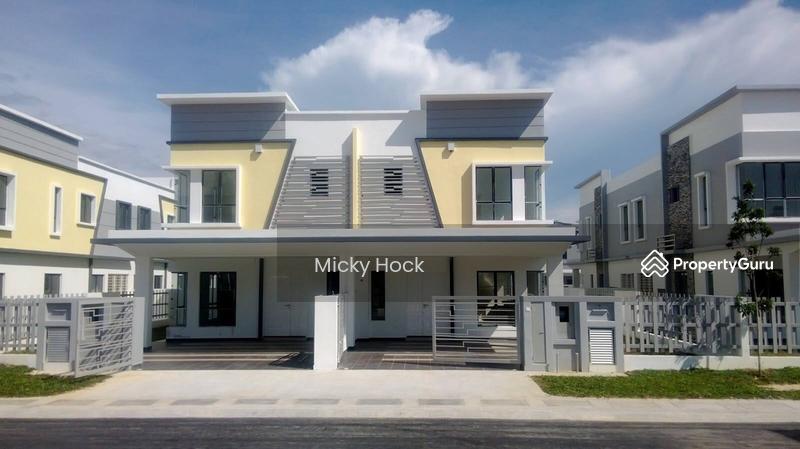 [M1 Residential+Cash Back 80k+Full loan]2tkt Mampu Milik Freehold 22x78 Puchong Cyberjaya Putrajaya #135959368