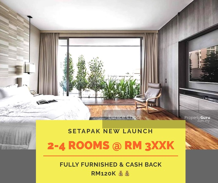 2 Bedroom Apartments For 650 In Philadelphia: Setapak FREEHOLD NEW Launch Condo, Other, Setapak, Kuala