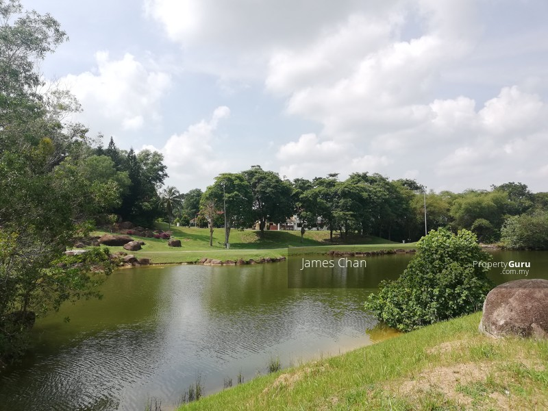 By beautiful lake side