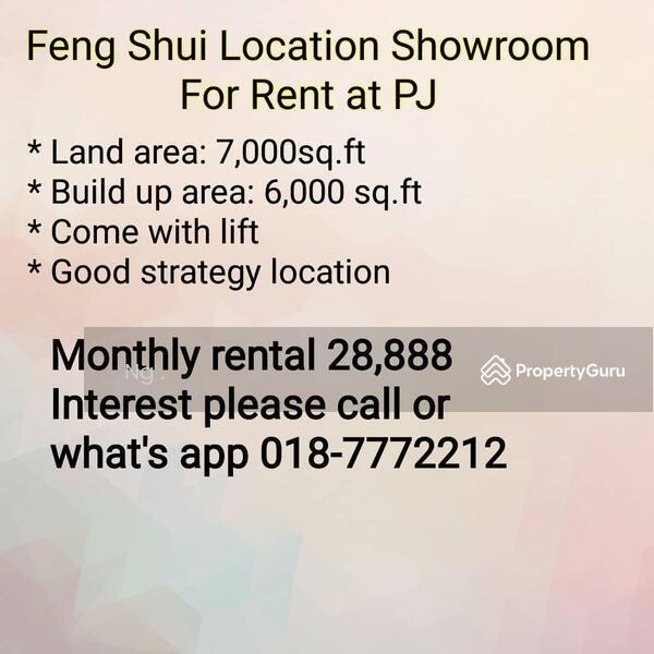 Feng Shui Showroom For Rent at PJ #140887588
