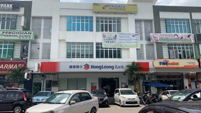 Dijual - GELANG PATAH JB 2 SHOPS NEAR HONG LEONG BANK MAYBANK RENTAL RM13, 000 12 YEARS TENANCY GOOD TENANT