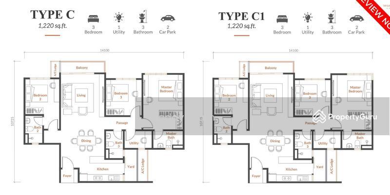 99 Residence Kl North Jalan Seri Utara Kl City Kuala Lumpur 4 Bedrooms 1220 Sqft Apartments Condos Service Residences For Sale By Teddy Tham Rm 606 000 30750379