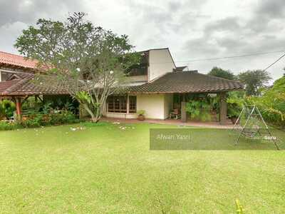 For Sale - FULLY RENOVATED & VERY HUGE LAND AREA 2 Storey Bungalow Taman Tun Dr Ismail FREEHOLD