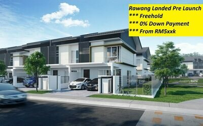 For Sale - 0% Downpayment Rawang New 2sty Freehold Near Aeon
