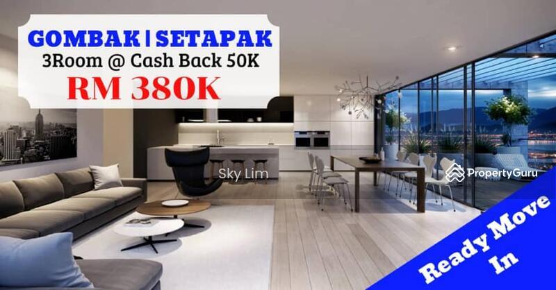 KL Setapak Gombak READY MOVE IN CASH BACK 80K freehold #146037614