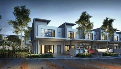 For Sale - [Hot Sell! ! ! 2022 Completed+0%D/P]2-Sty Freehold Superlink 23x80  Seri Kembangan