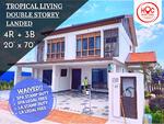 HOC free booking New double storey Tropical Kota Warisan - less 15 mins to Cyberjaya and Putrajaya