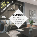 CHERAS【FREEHOLD】CONDOMINIUM ! 295K ONLY FOR 3 ROOM 2 BATH !