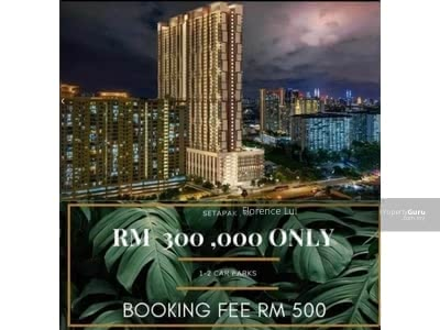 For Sale - Newest Launch Hot Property In Setapak