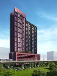 [NEW] Rose Pink Condo with 200m to LRT!