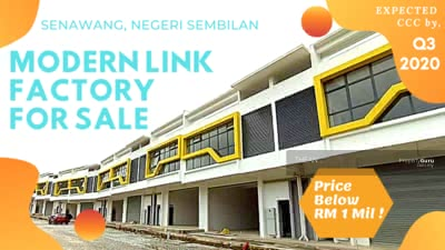 For Sale - Senawang Integrated Industrial Park