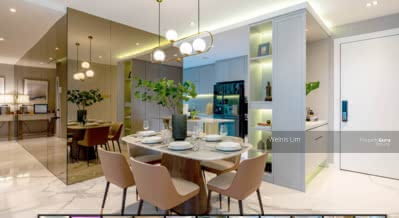 For Sale - 3R3B 1300SQFT RM5xxk Enjoy Big Spacious Layout, Pure Residential KLCC VIEW