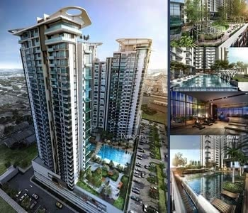 For Sale - [ 0% DOWNPAYMENT + CASH BACK ] NEW KL CONDO IN PRIME LOCATION WITH DUAL KEY - NEXT TO MRT