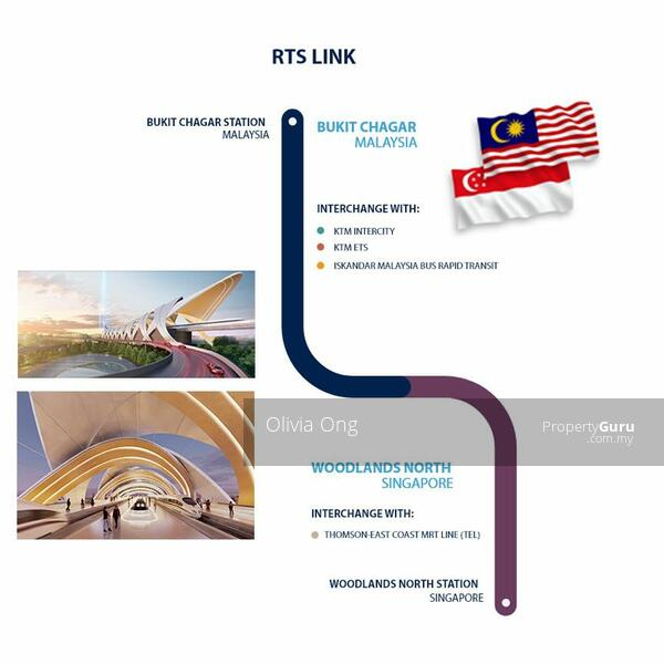 Twin Tower Freehold @ Bukit Chagar JB Nearest CIQ 3mins walking distance #167323078