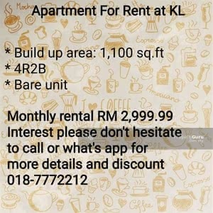 For Rent - 55100