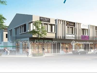 Dijual - New 2-Storey Shop Office @ Adenium Indah