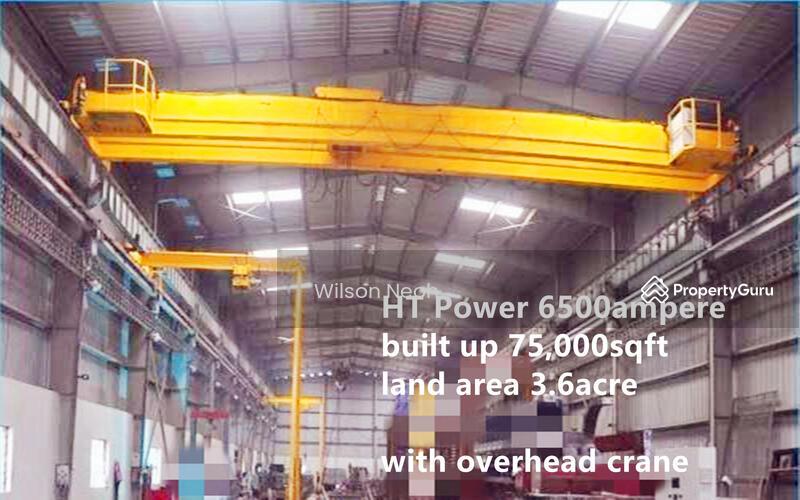 Senai Johor bahru High Tension 6000ampere Power factory for rent #151606374