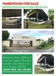 Detached Warehouse at Jalan Demak Laut Kuching
